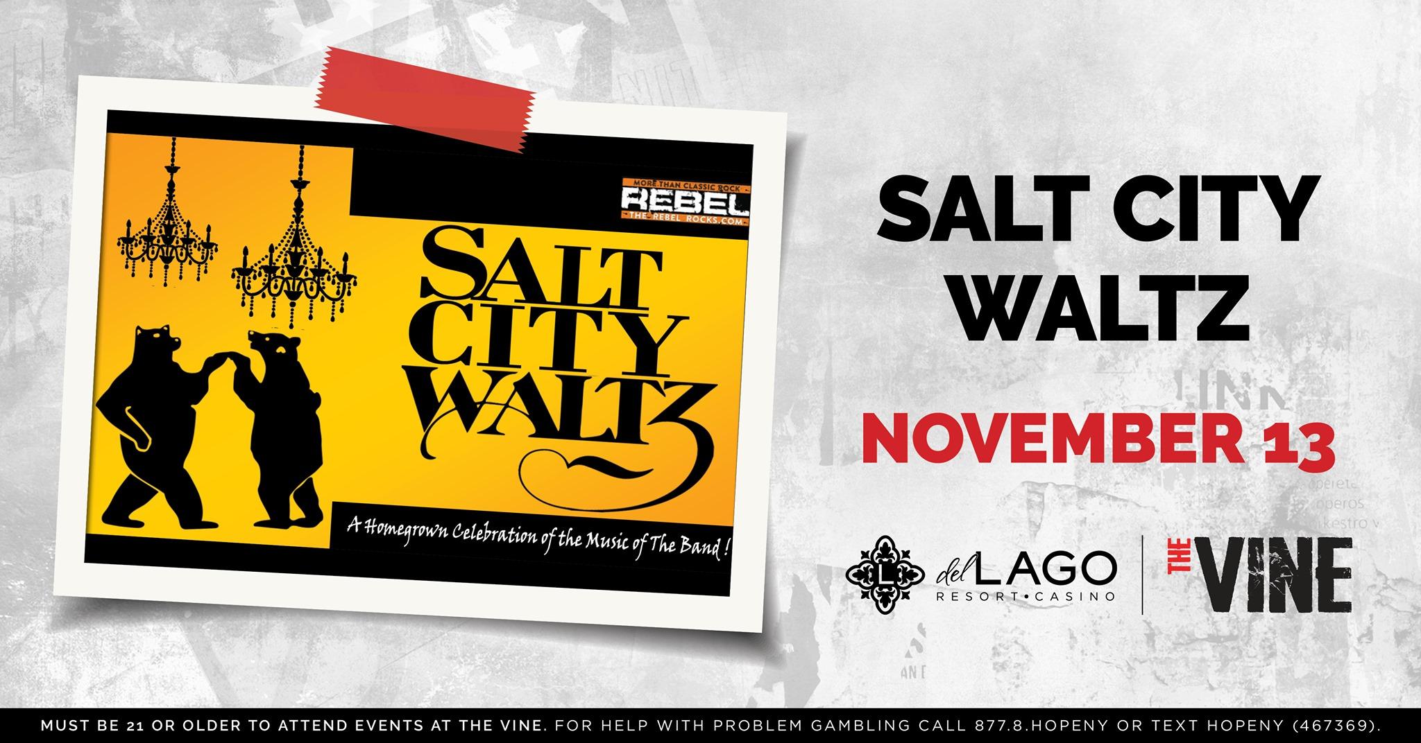 Salt City Waltz   November 13th