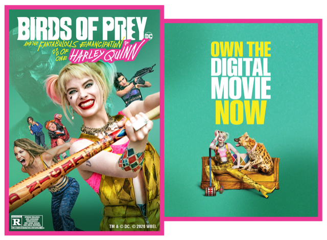 Chance to WIN a Digital Copy of Birds of Prey!