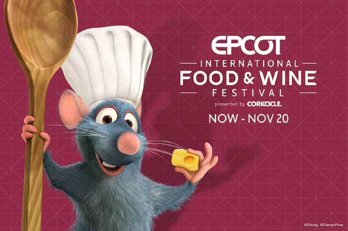 Star 98.9 wants you to experience the EPCOT® International Food & Wine Festival!