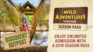 WIN tickets to Christmas @Wild Adventures!