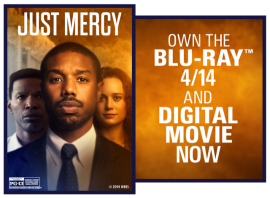 Chance to win a Digital copy of JUST MERCY!