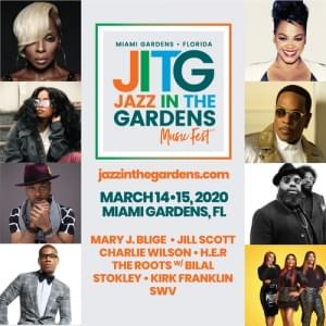 WIN tickets to Jazz In the Gardens!