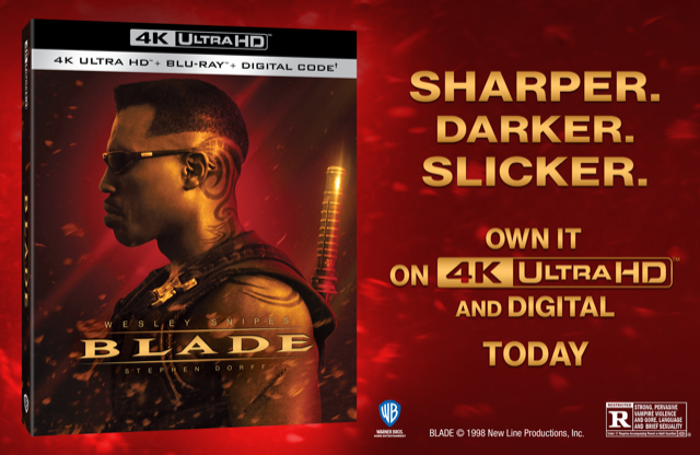 "Chance to WIN digital copy of ""Blade!"""