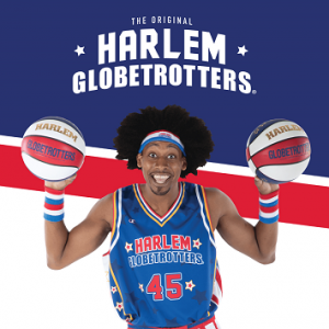 Listen for YOUR CHANCE to see the Harlem Globetrotters and watch DJ E-Zone shoot a free throw!