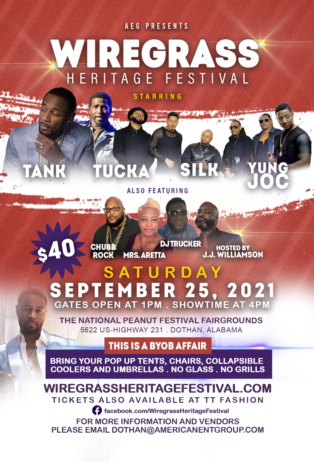 Chance to WIN tickets to the Wiregrass Heritage Festival 2021!