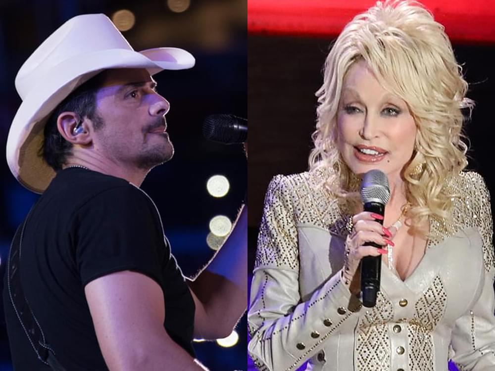 April 9: Live-Stream Calendar With Dolly Parton, Brad Paisley, Maddie & Tae, Michael Ray & More