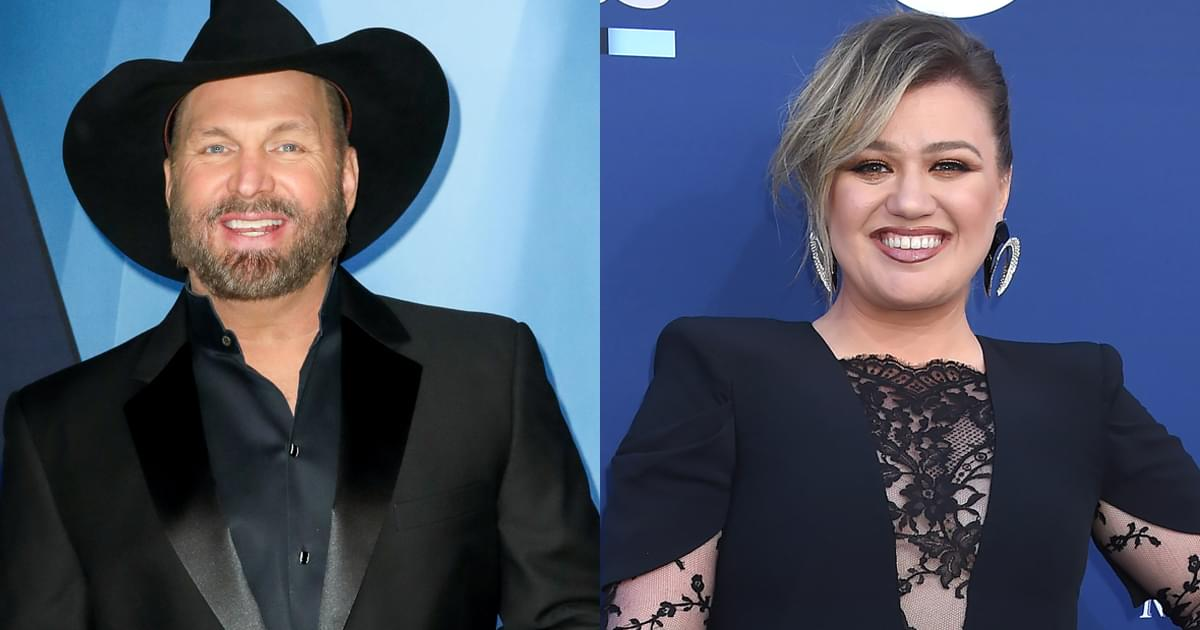"Watch Garth Brooks Perform ""Shallow"" With Kelly Clarkson"