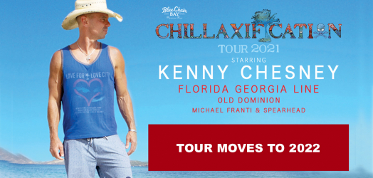 Kenny Chesney's CHILLAXIFICATION Tour