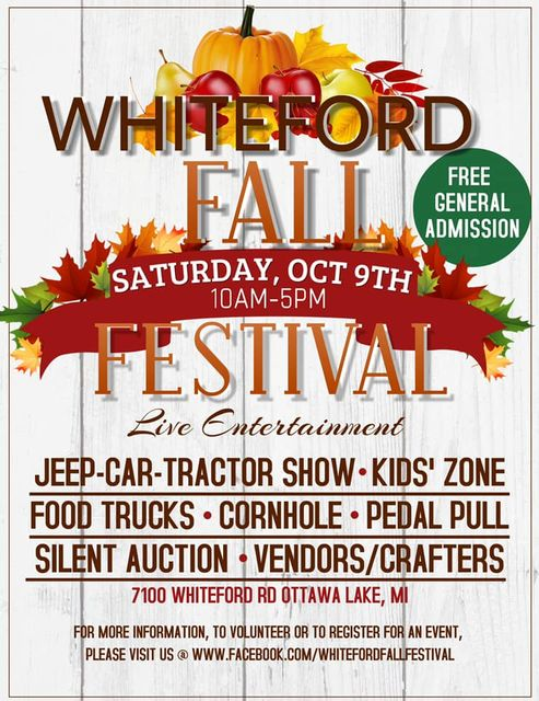 Classic Auto Show – Jeep Invasion – Whiteford Fall Festival