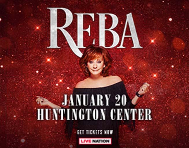 Reba – Huntington Center January 20th 2022