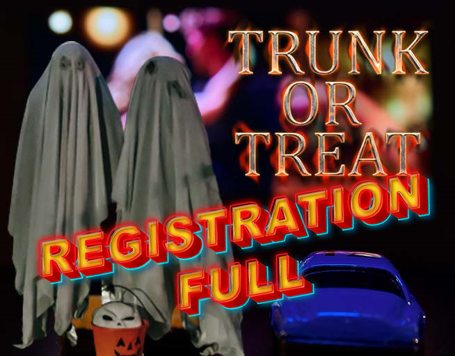 Trunk Or Treat Registration Closed