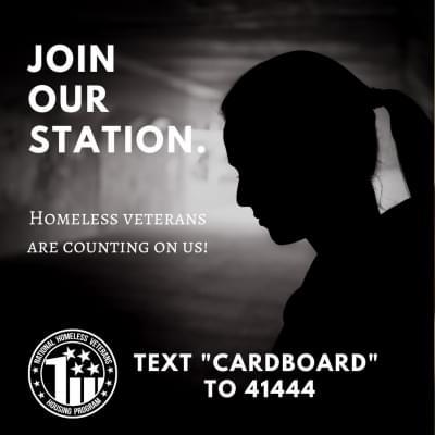 Veterans Matter Cardboard 2 Headboard