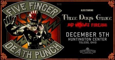 Five Finger Death Punch in Toledo