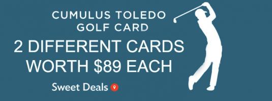 Cumulus Toledo Golf Card 2020