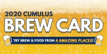 2020 Cumulus Brew Card
