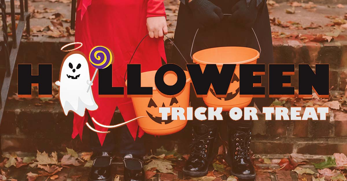 Halloween Trick Or Treat Times!