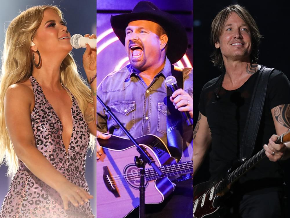 Maren Morris, Garth Brooks & Keith Urban Share What They're Thankful for in 2019