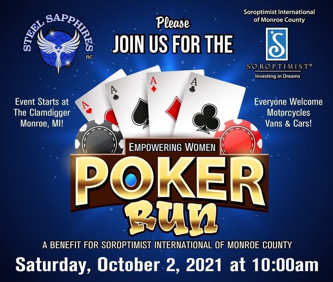 Empowering Women Poker Run