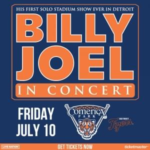 Billy Joel at Comerica Park