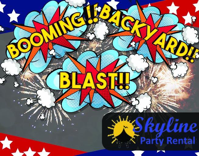 Booming Backyard Blast! With Skyline Party Rental!