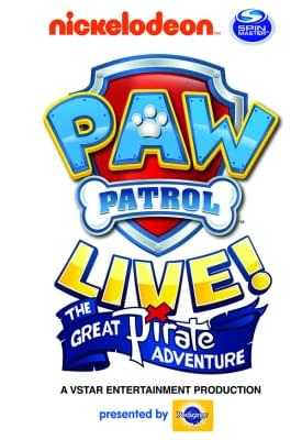 Paw Patrol Live: The Great Pirate Adventure