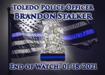 Helping the Family of Toledo Police Officer Brandon Stalker