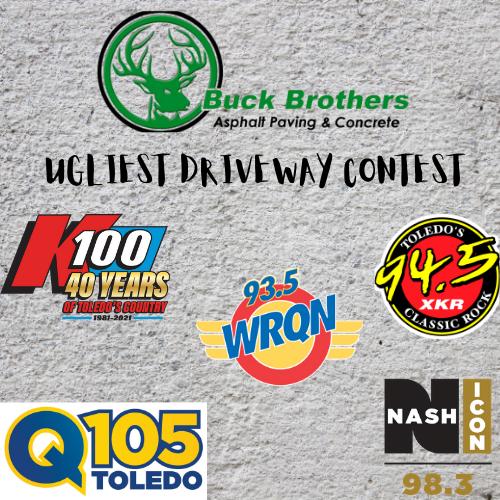 Q105 Ugliest Driveway Contest!