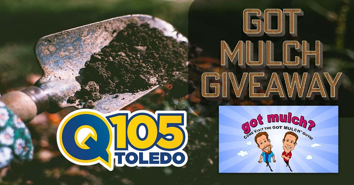got mulch giveaway q105 facebook