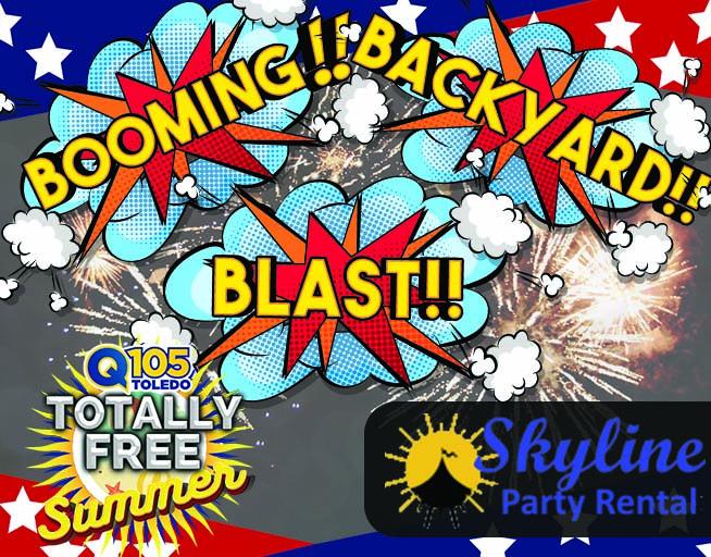 Booming Backyard Blast! With Skyline Party Rental
