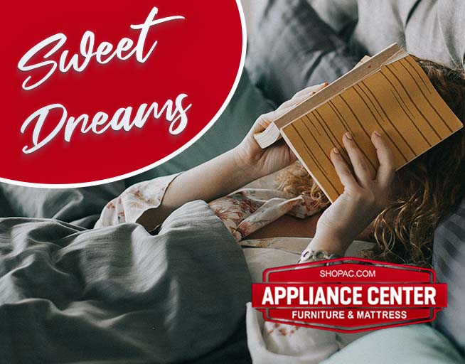 Sweet Dreams With The Appliance Center Mattress and Bedroom