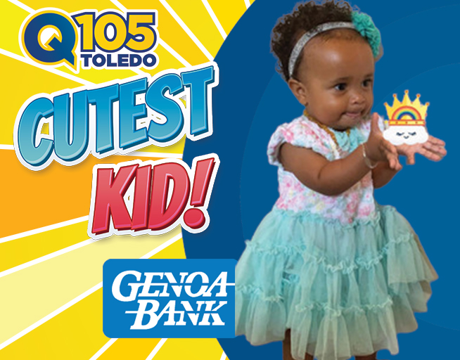Meet Reyna Cloud the 1st place winner in the Cutest Kid Contest with Genoa Bank!
