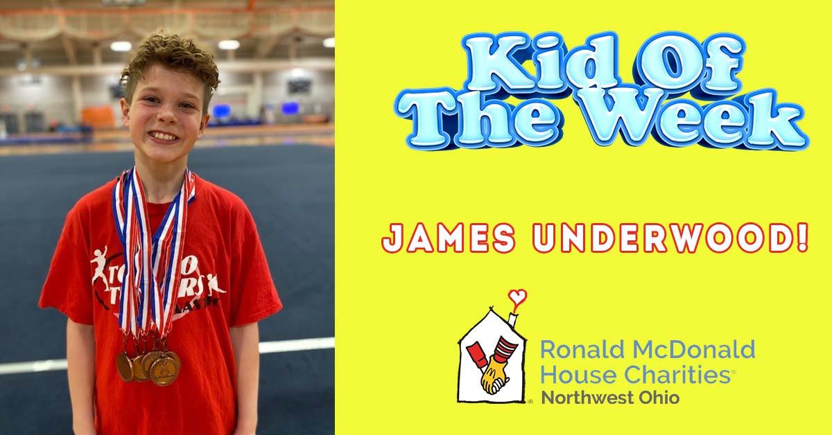 Kid Of The Week! = James