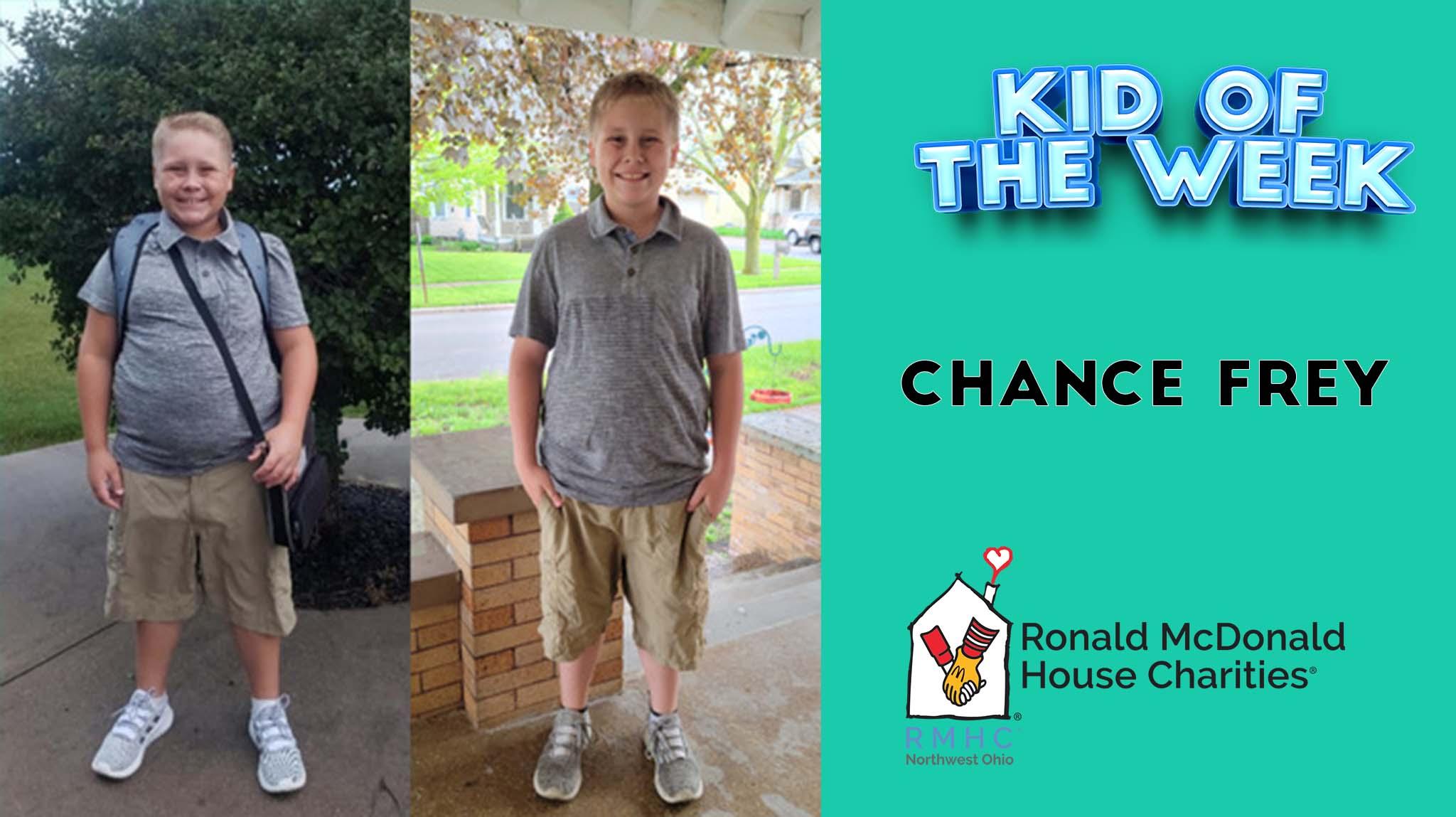 Kid Of The Week – Chance Frey