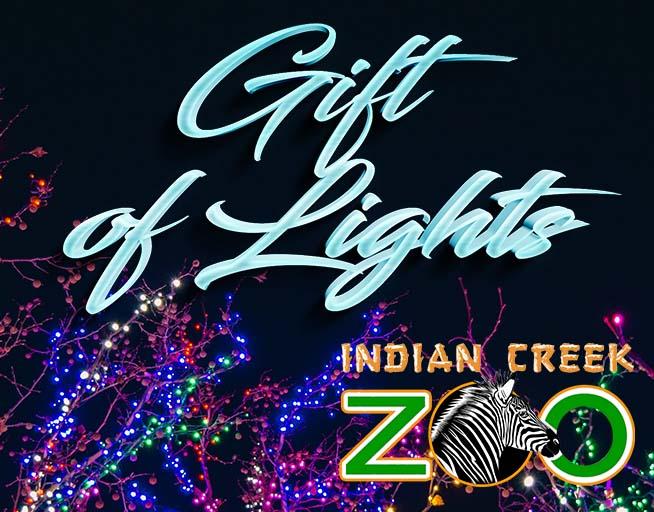 Indian Creek Zoo Gift Of Lights