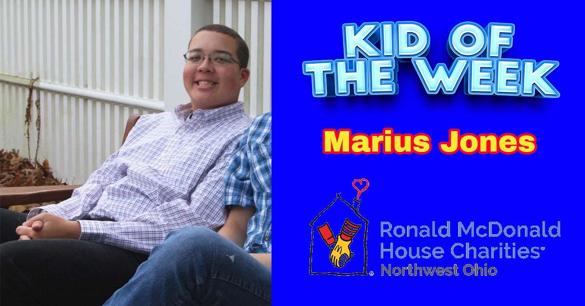 Kid Of The Week – Marius Jones
