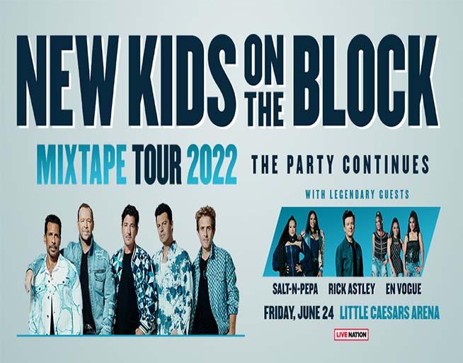 New Kids On The Block, En Vogue, Rick Astley, and Salt N Peppa!