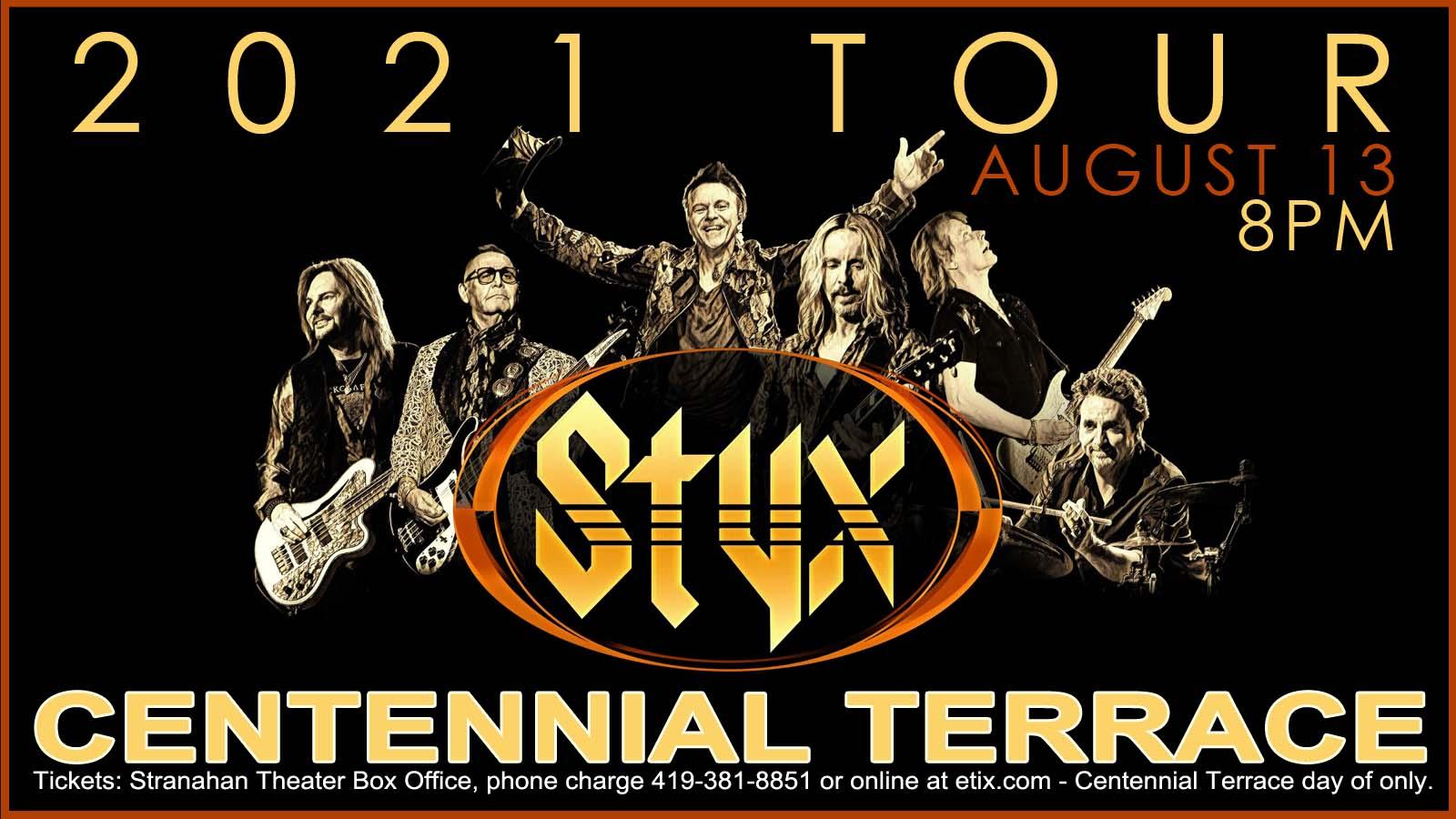 Styx – Centennial Terrace – August 13