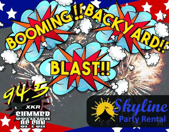 backyard blast WXKR