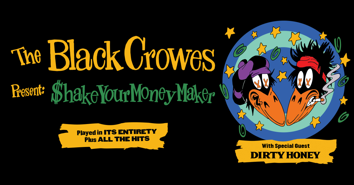 The Black Crowes @ DTE July 29th!