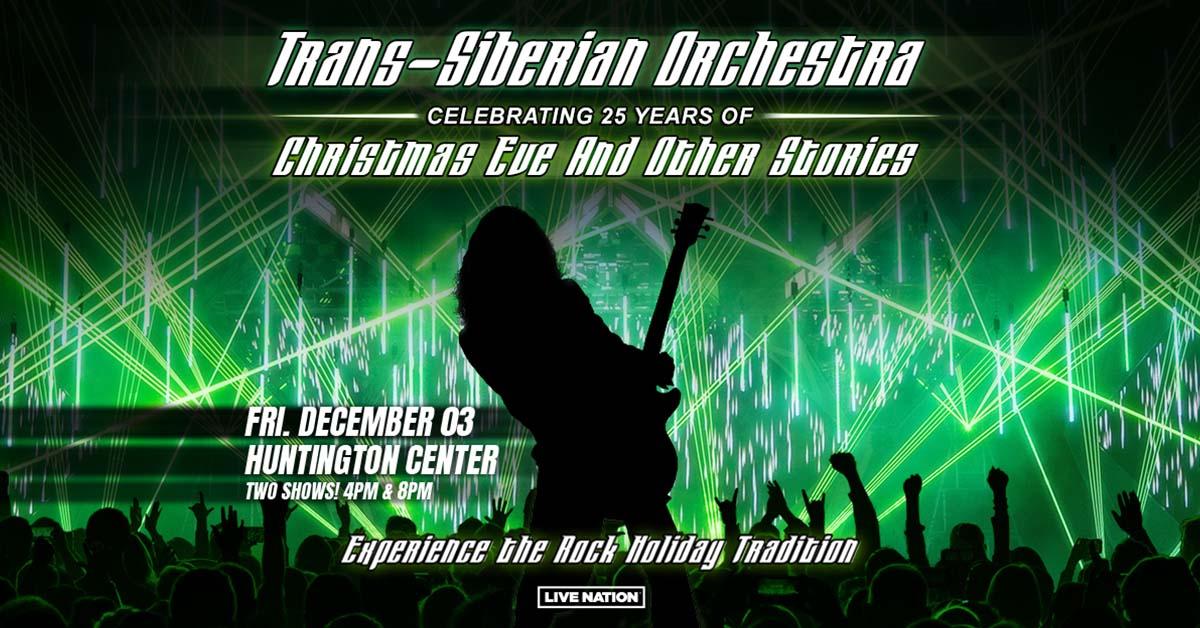 Trans-Siberian Orchestra Huntington Center December 3rd!