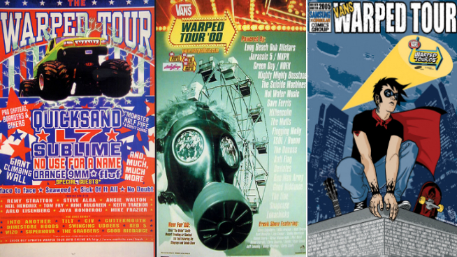 This Week Inside the VORTX – Warped Tour Rewind 1995-2005