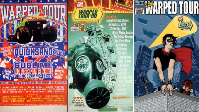This Week Inside the VORTX – Warped Tour Rewind 1995-2005