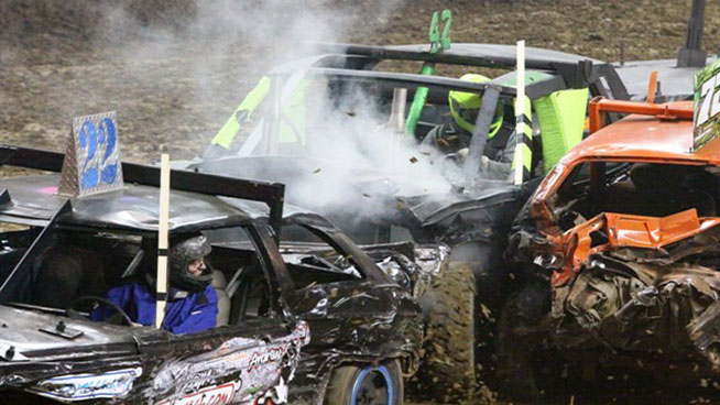 The World's Best Demolition Derby is Coming to Landon Arena!