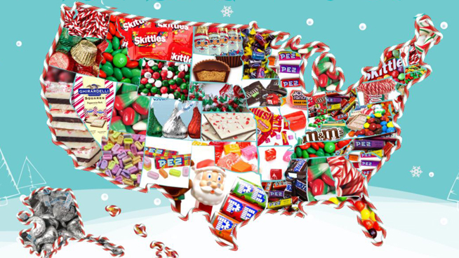 What Is Kansas' Favorite Christmas Candy?
