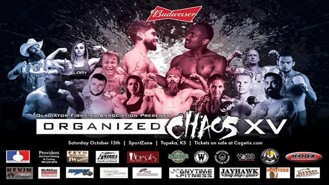 Organized Chaos 15 Hits Hard October 13