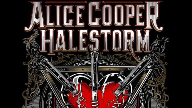 Alice Cooper and Halestorm Haunt KC This Summer