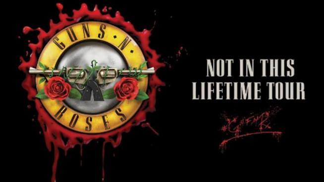 Guns N' Roses Heading To Wichita
