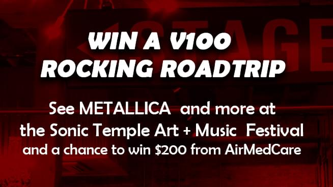 See Metallica TWICE at Sonic Temple – WIN TICKETS