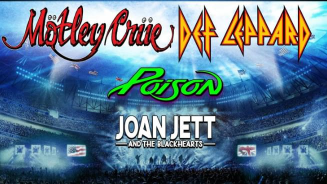 ICYMI: Motley Crue, Def Leppard, Poison Announce Tour