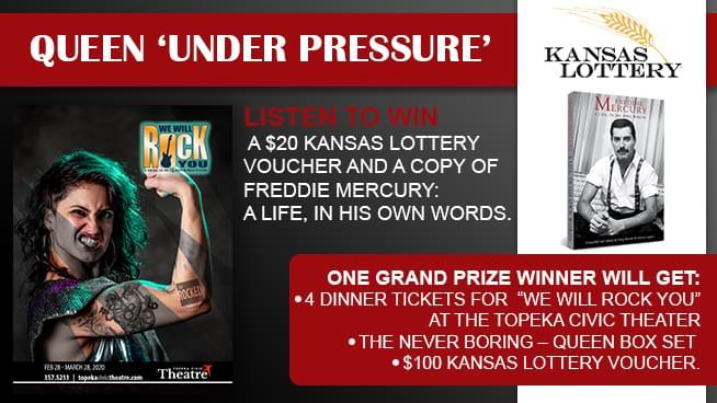 Queen Under Pressure – Kansas Lottery